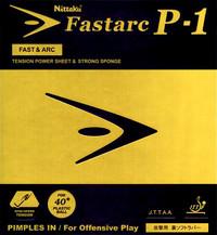 Nittaku fastarc p-1 table tennis rubber ping pong