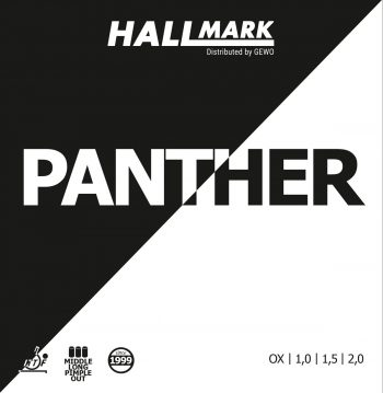 Hallmark Panther table tennis rubber