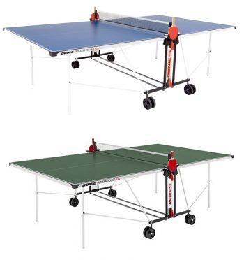 Outdoor roller fun table tennis table