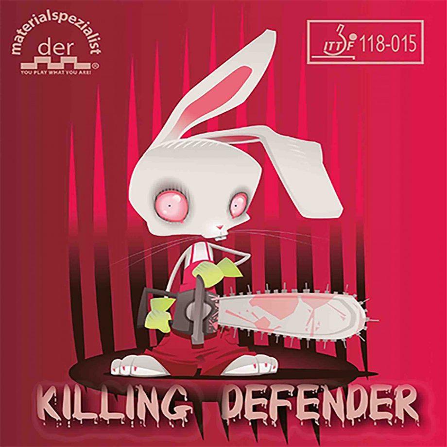 Der materialspezialist killing defender rubber
