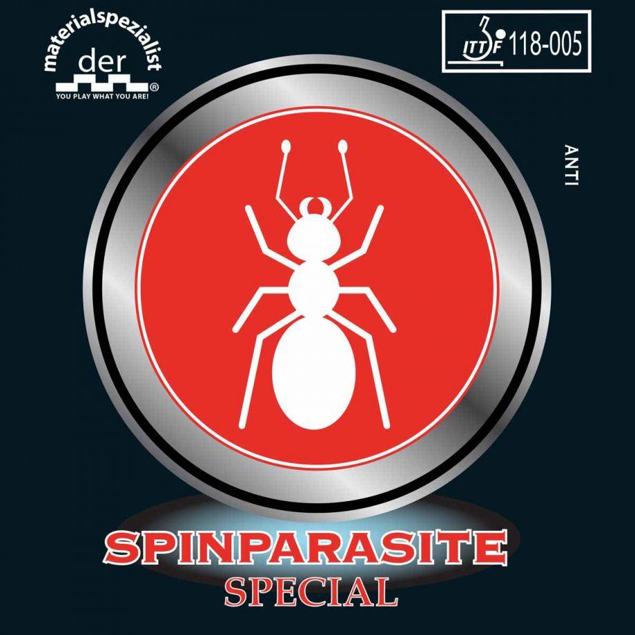 Spinparasite ruber der materialspezialist