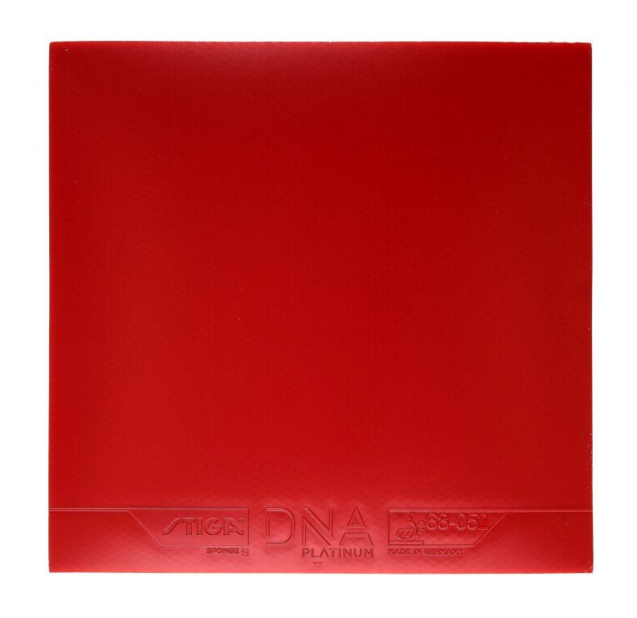 Stiga DNA Platinum S table tennis rubber red