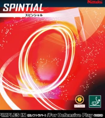 Nittaku Spintial table tennis rubber